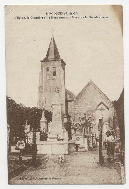 Eglise, Cimetière Monument aux Morts.jpg