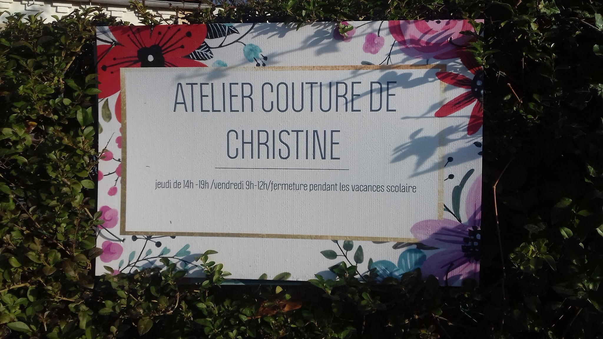 Christine couture