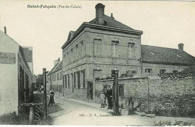 Mairie au début du XXème siècle.jpg