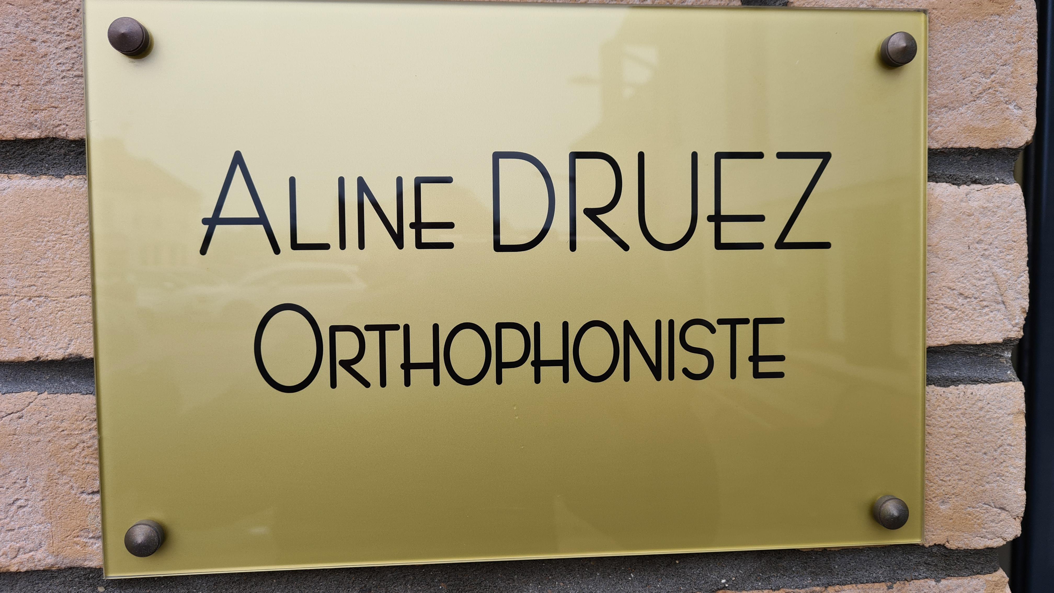 Plaque Mme Druez