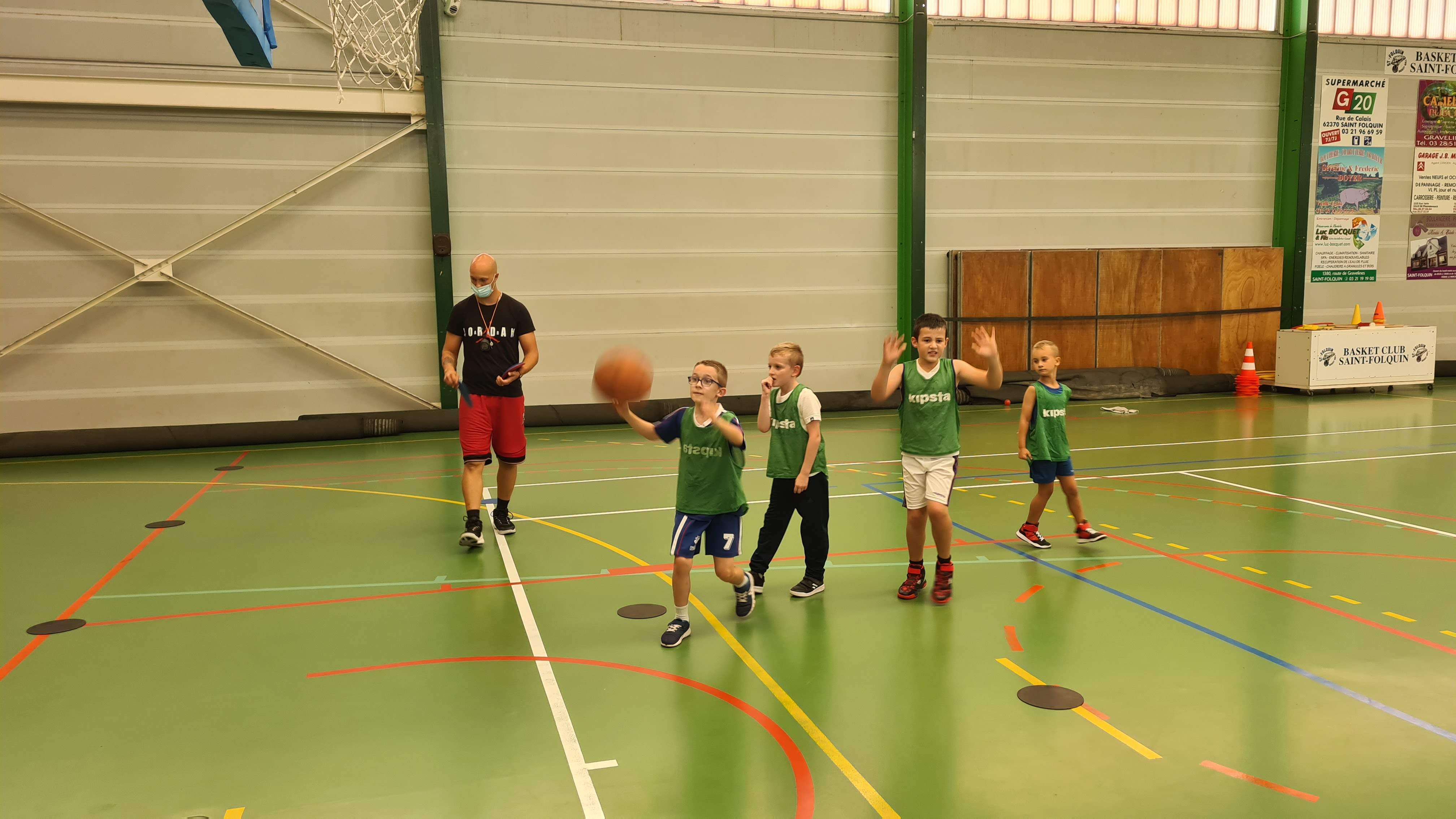 entrainement salle des sports