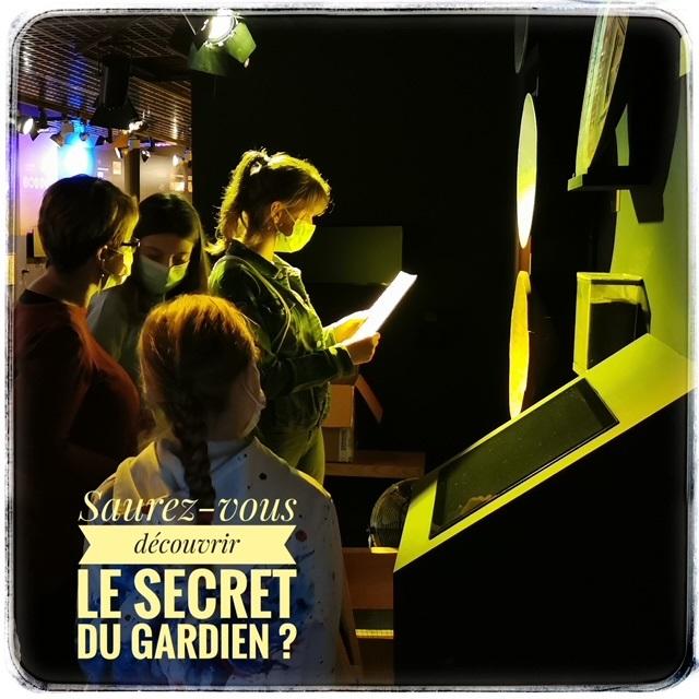 Jeu Le Gardien du secret Message du Gardien 03 ©OT Périgord Limousin.jpg