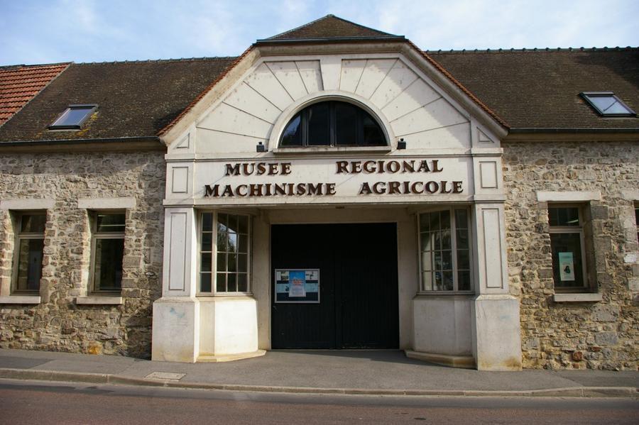 façade musée agricole