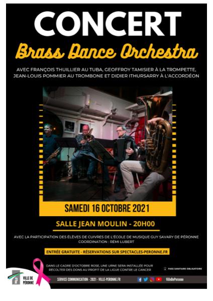 Concert Brass Dance Orchestra (16/10/2021                                 -                                 16/10/2021)