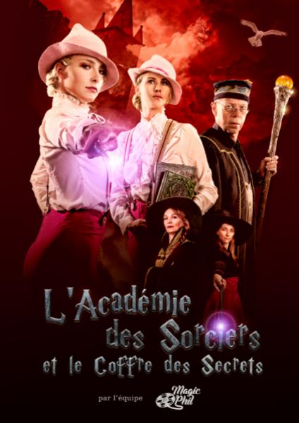 L'Académie des Sorciers et le coffre des Secrets (31/10/2021                                 -                                 31/10/2021)
