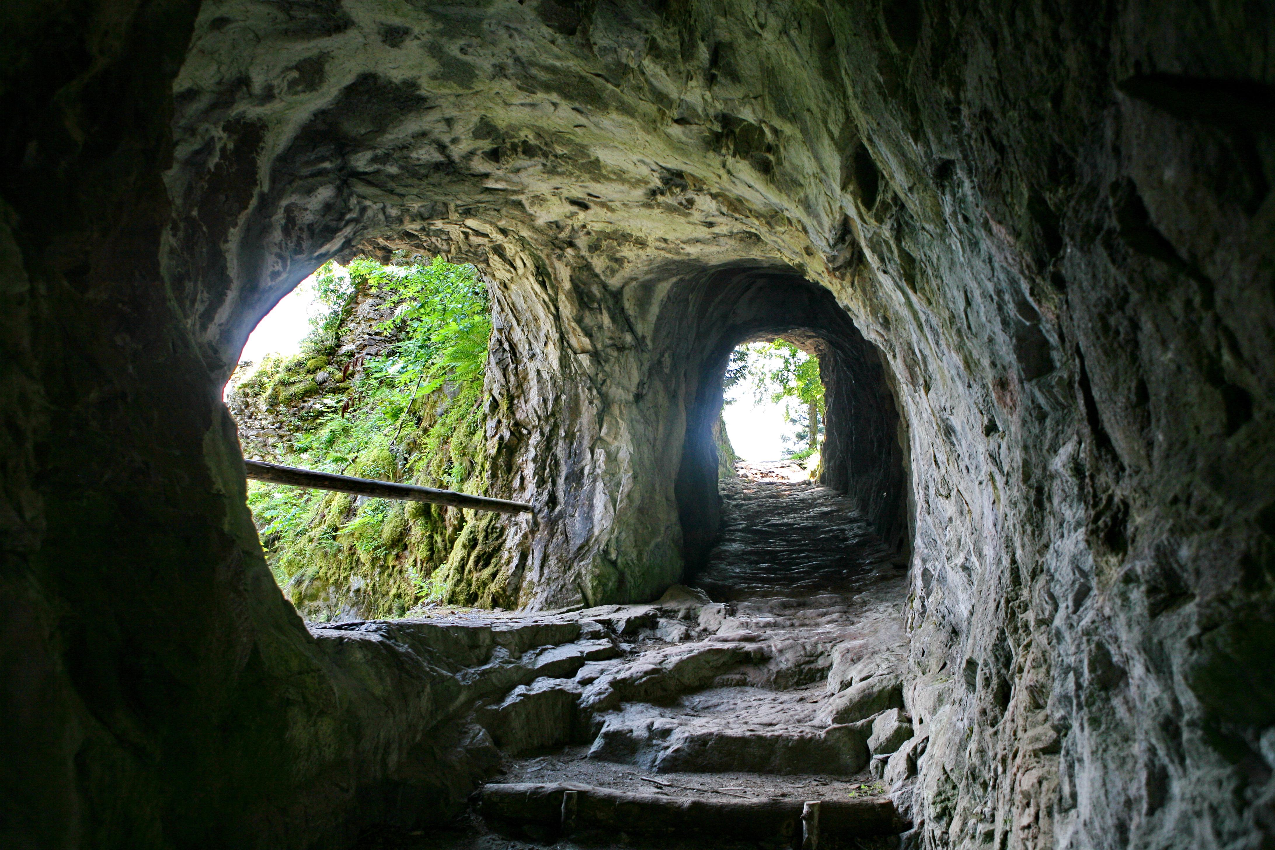 intérieur tunnel (photo)