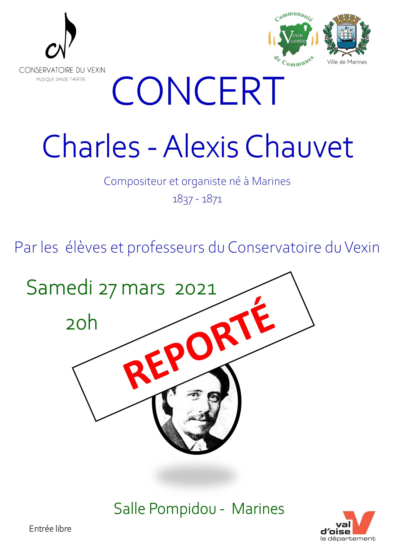 affiche concert Chauvet Marines mars 2021 reporté.png