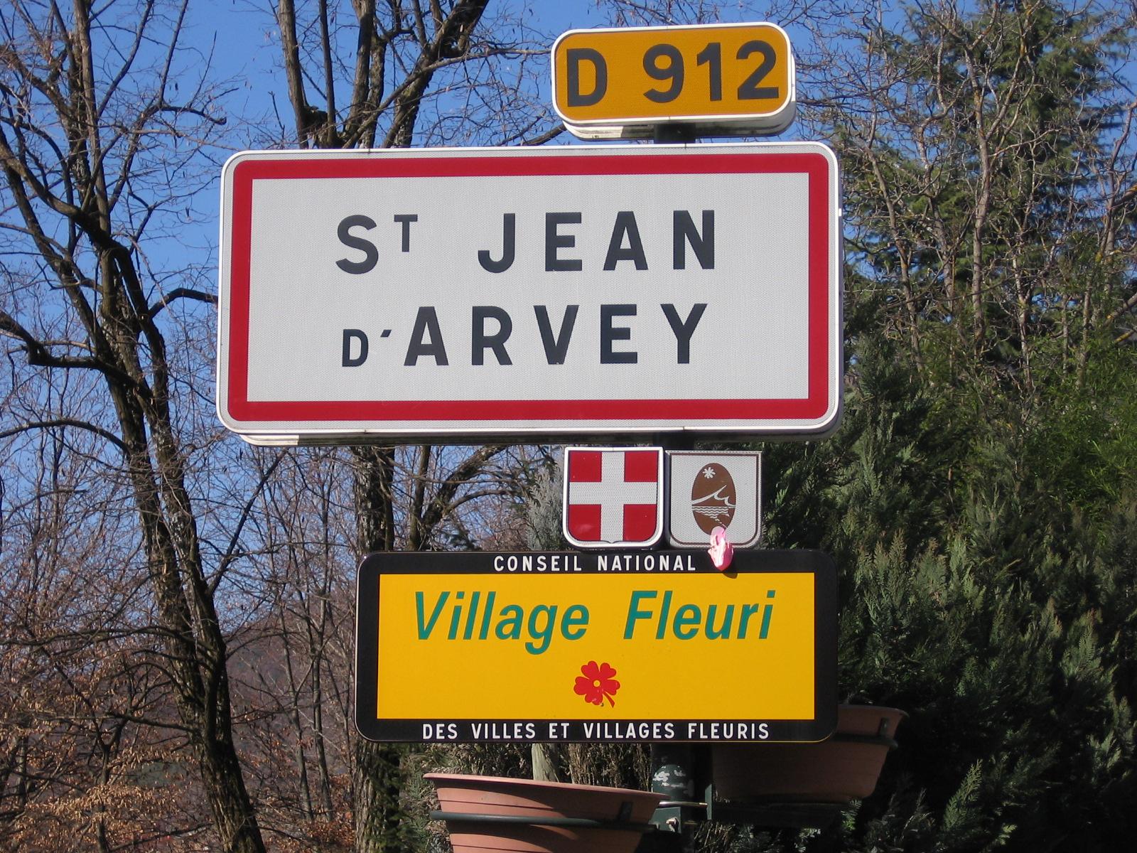 PANNEAU SAINT JEAN D'ARVEY 1