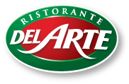 "Logo restaurant ""Del Arte"""
