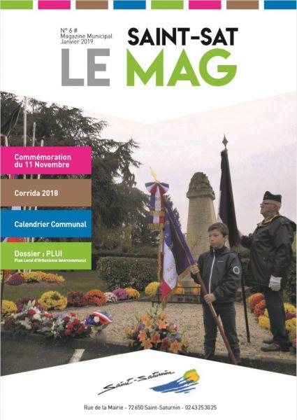 Saint sat Le mag Janvier 2019