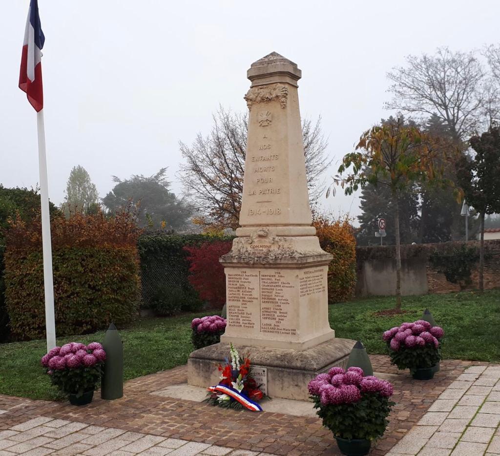 Histoire et Patrimoine - Ceremonie 11 novembre 2020 - 01