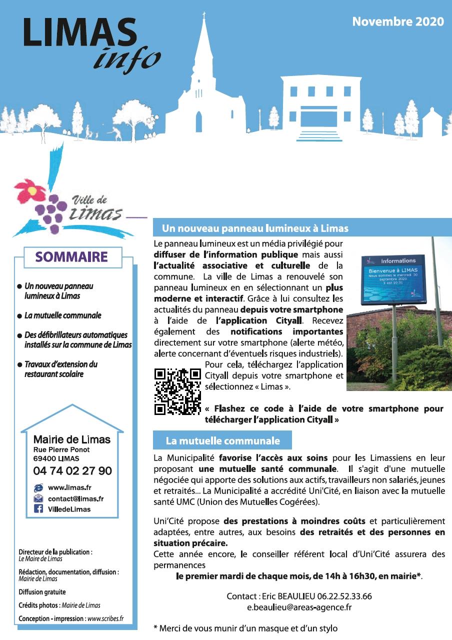 Couv Limas Info novembre 2020.jpg