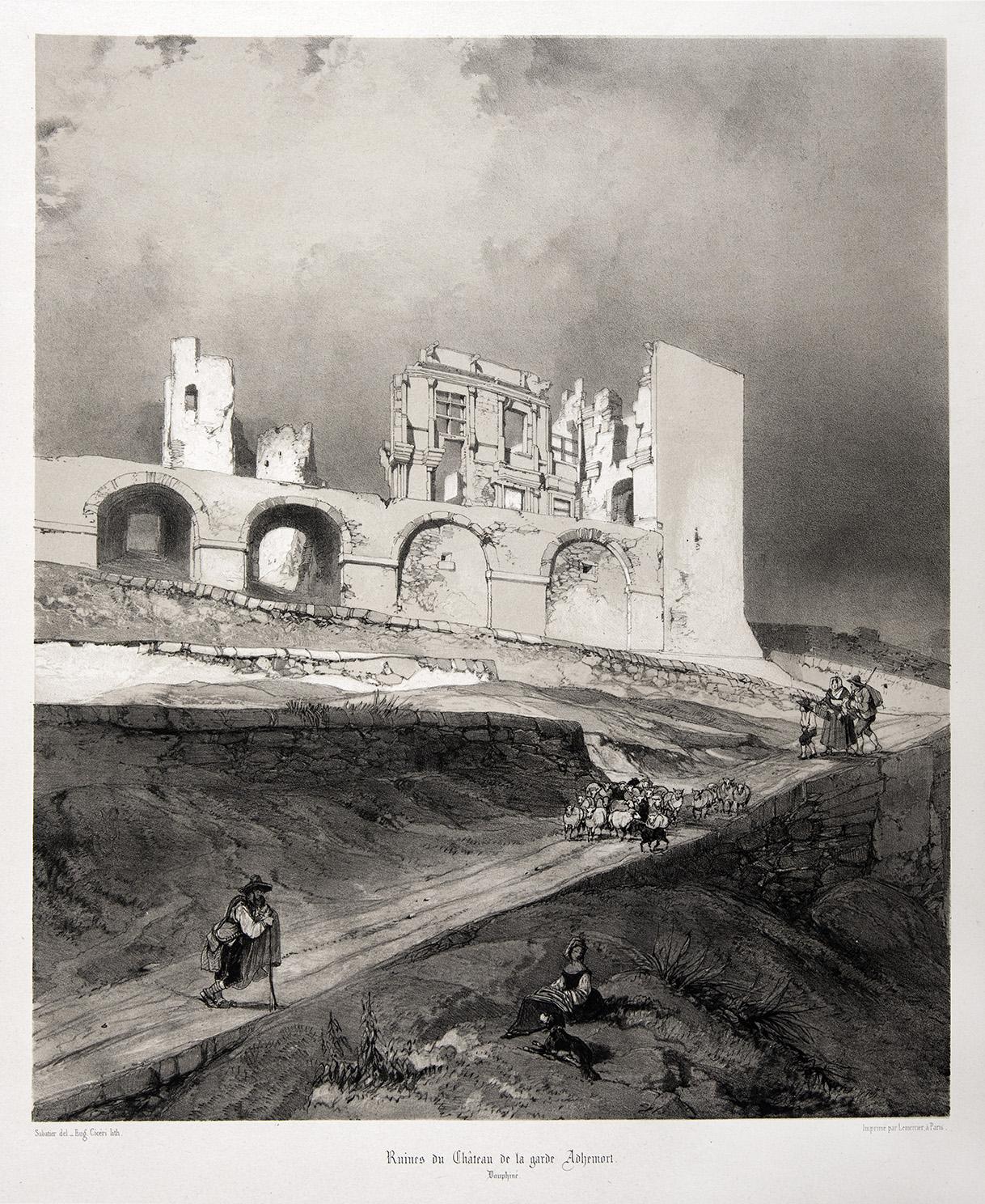 LGA - Chateau Escalin gravure Taylor 1854.jpg