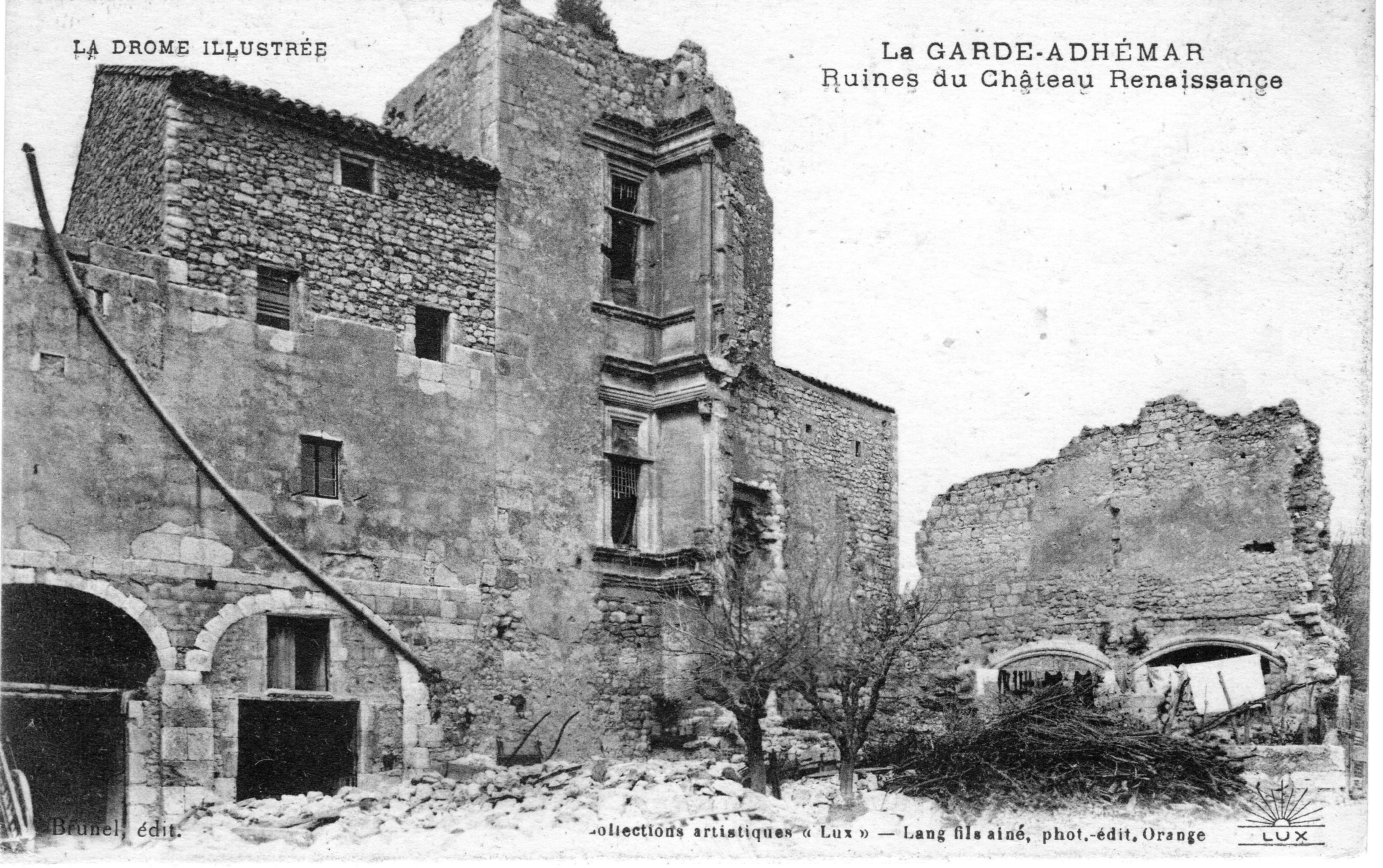 Chateau Escalin ruine 1910.jpg