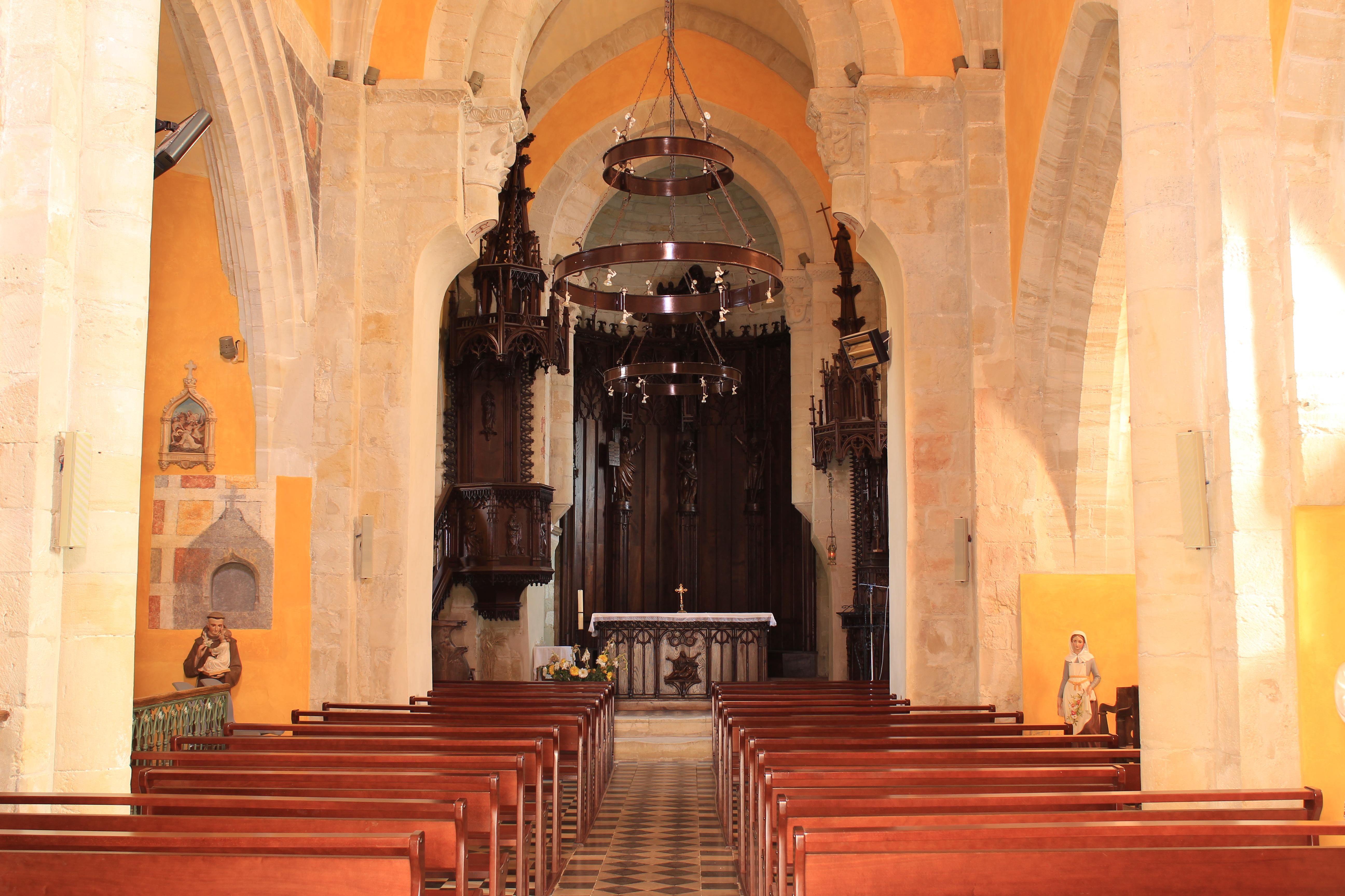 Eglise Vue intérieure
