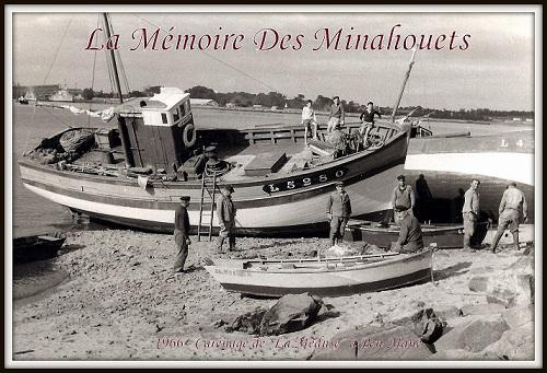 1966 - Carénage de La Méduse en carénage à Pen-Mané.1.jpg