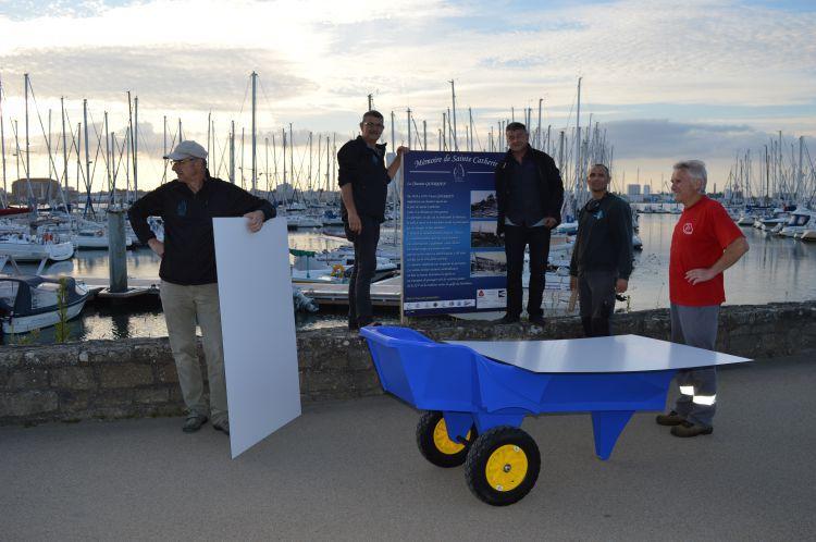 2016- Mise en place panneaux du port