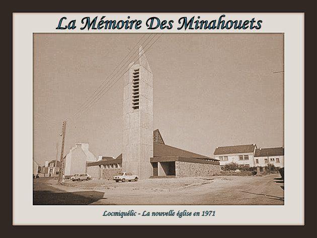 La nouvelle église en 1971