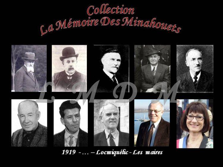 Les maires de Locmiquélic