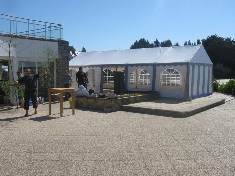 2015 - La tente 40m2 à Plouharnel