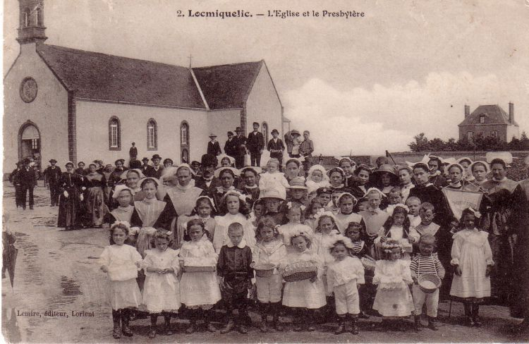 L'église & le presbytère