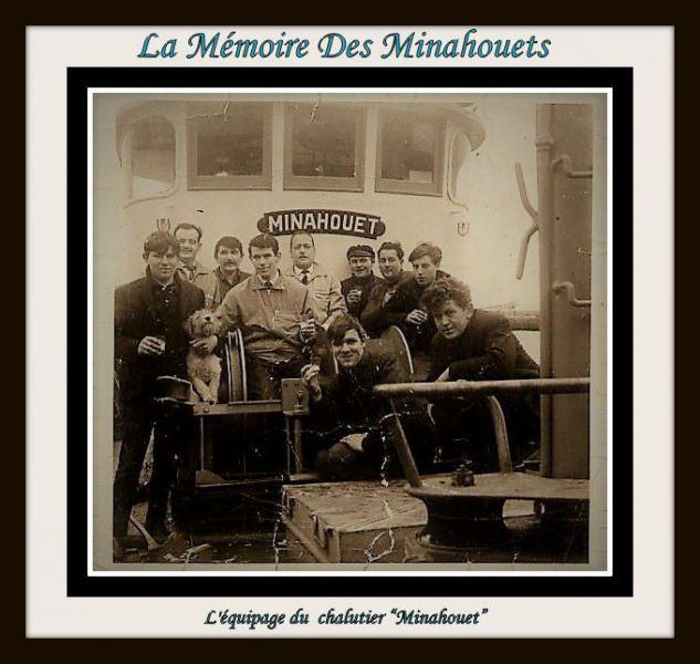L'équipage du chalutier Minahouet