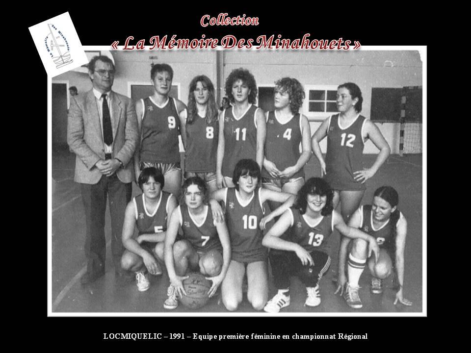1991-Equipe première féminine en régional.jpg