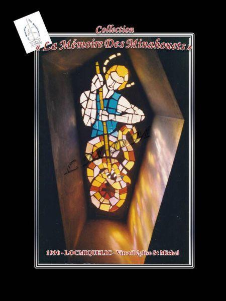 Vitrail St Michel