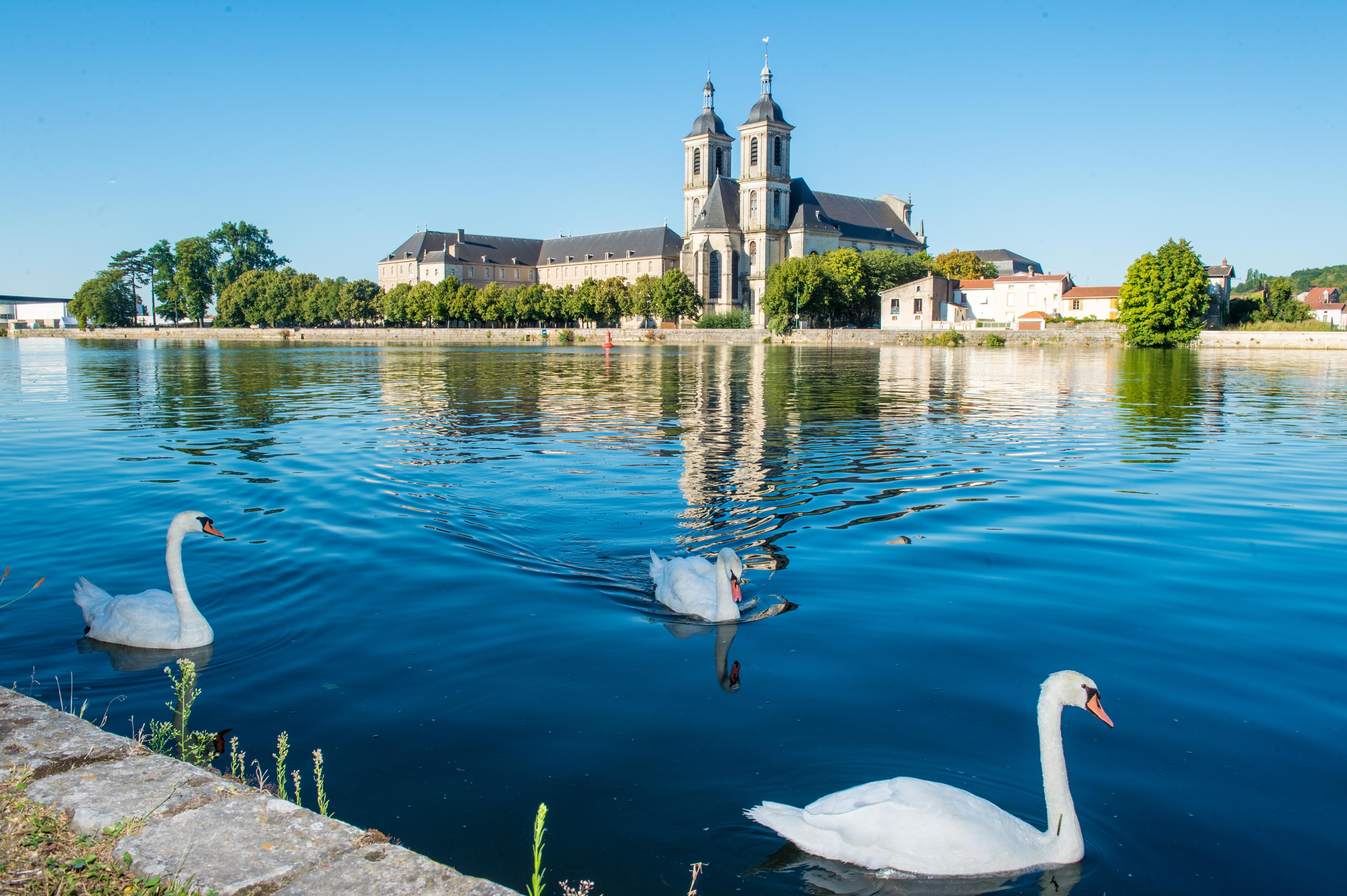 vue abbaye Moselle