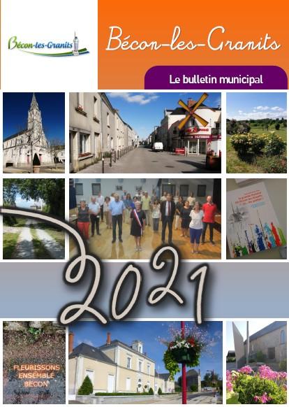 Couverture bulletin janvier 2021