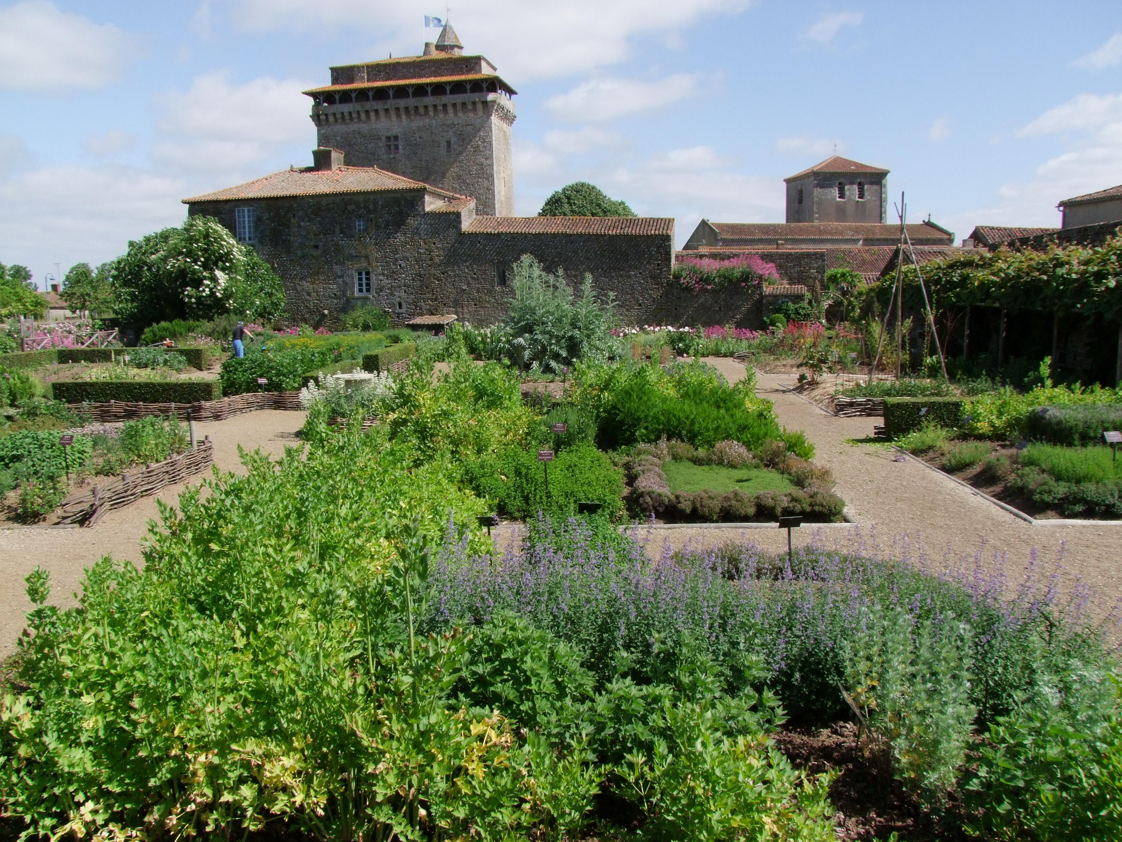 jardin donjon