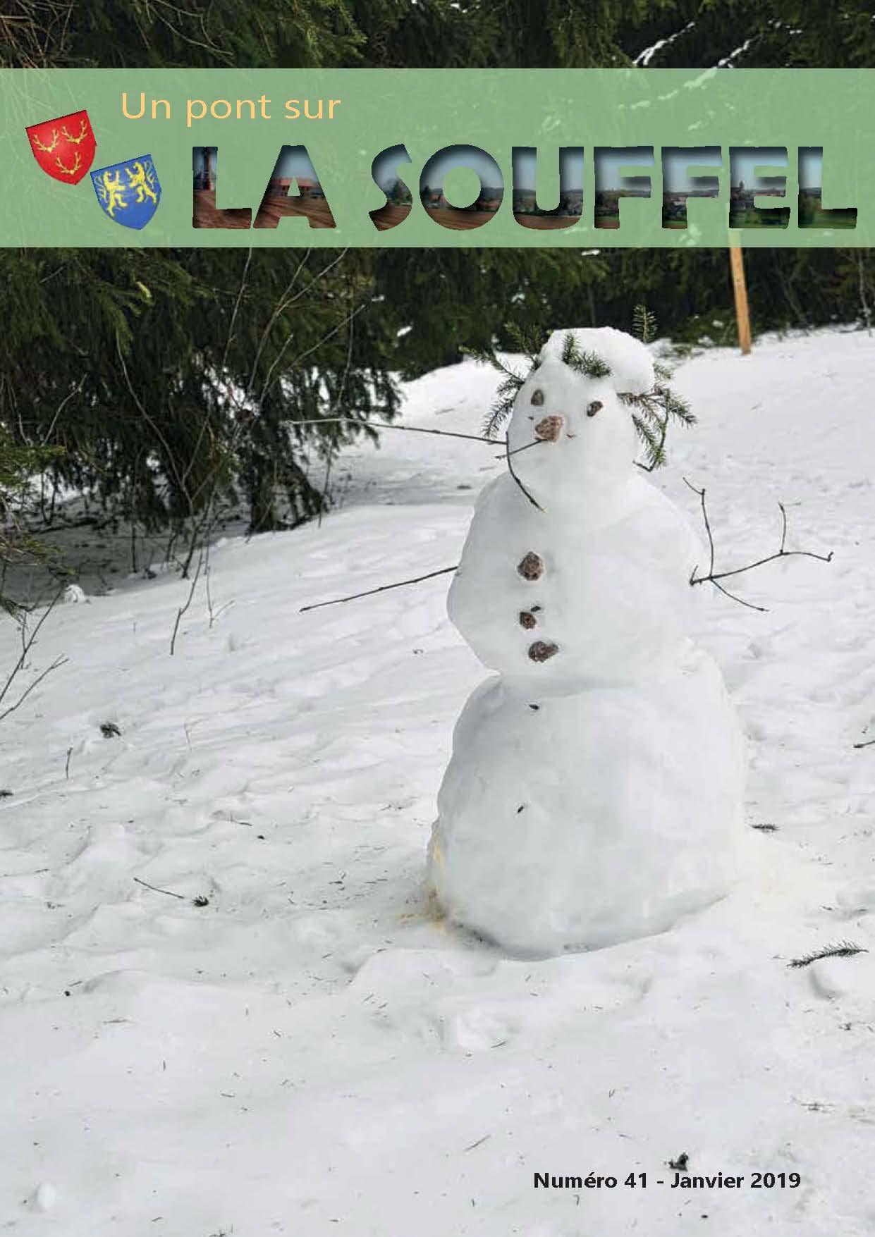 N°42 - Un Pont sur la Souffel - Janvier 2019