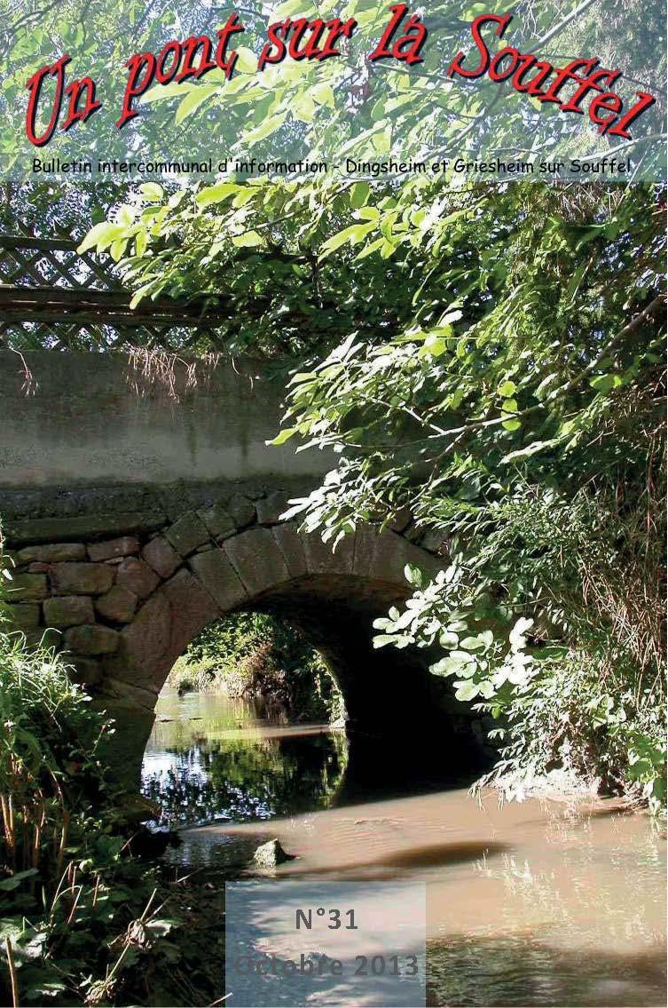N°31 - Un Pont sur la Souffel - Octobre 2013