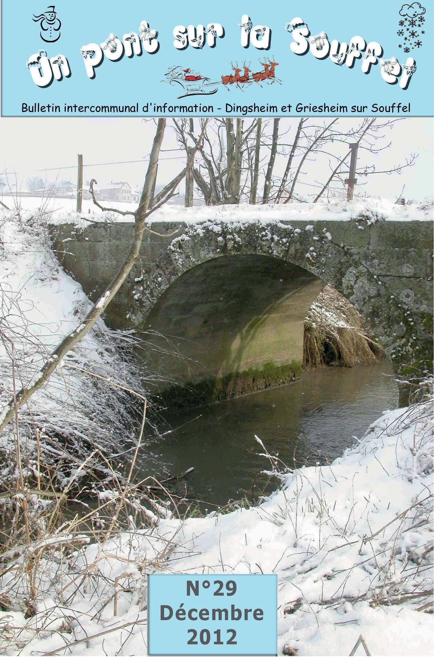 N°29 - Un Pont sur la Souffel - Décembre 2012