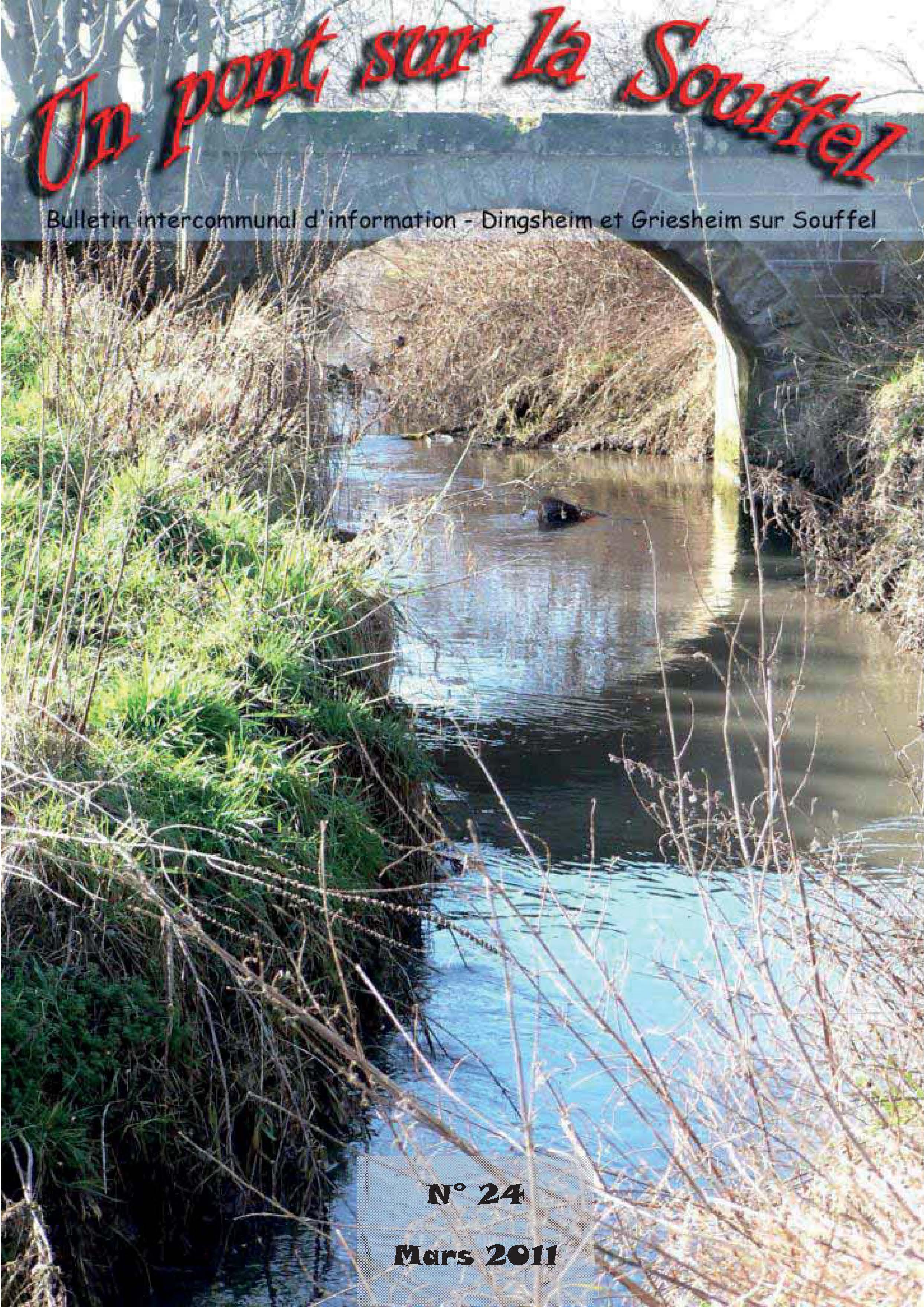 N°24 - Un Pont sur la Souffel - Mars 2011