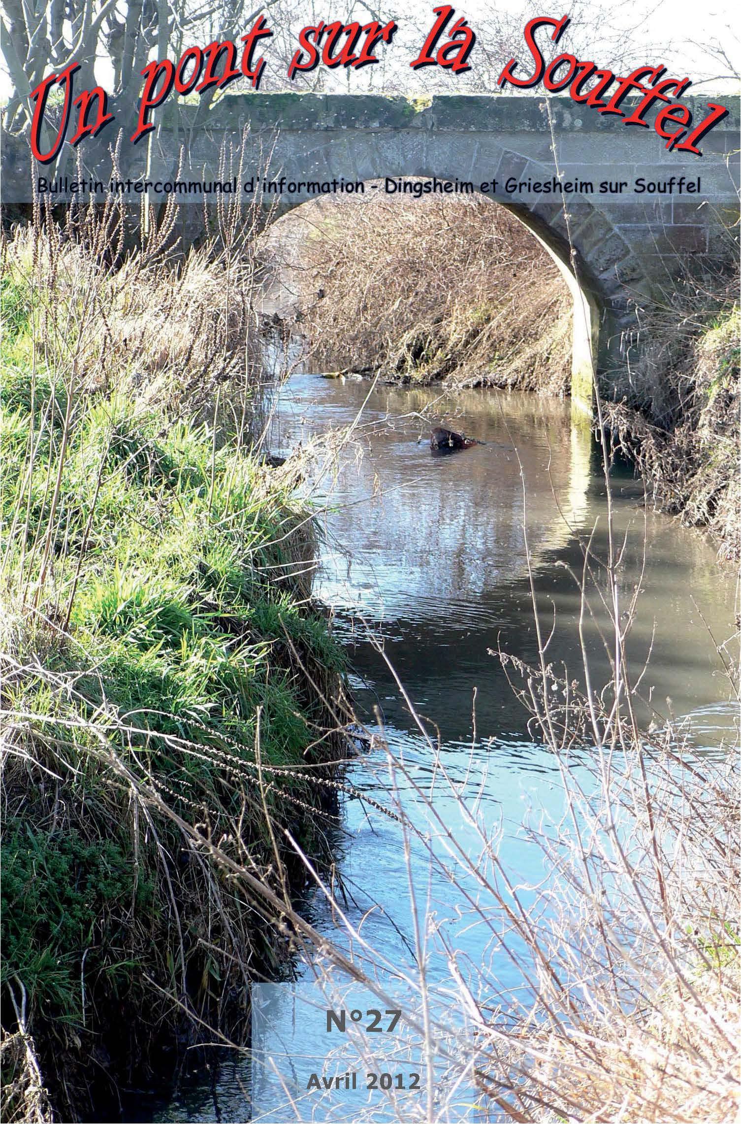 N°27 - Un Pont sur la Souffel - Avril 2012
