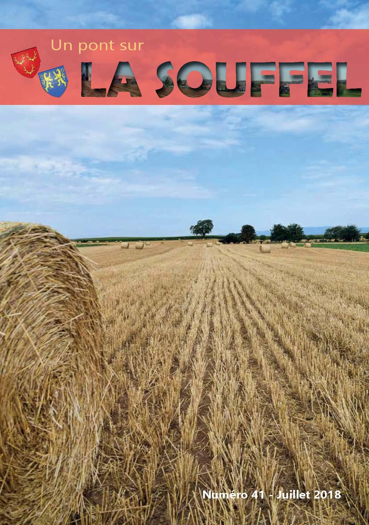 N°41 - Un Pont sur la Souffel - Juillet 2018