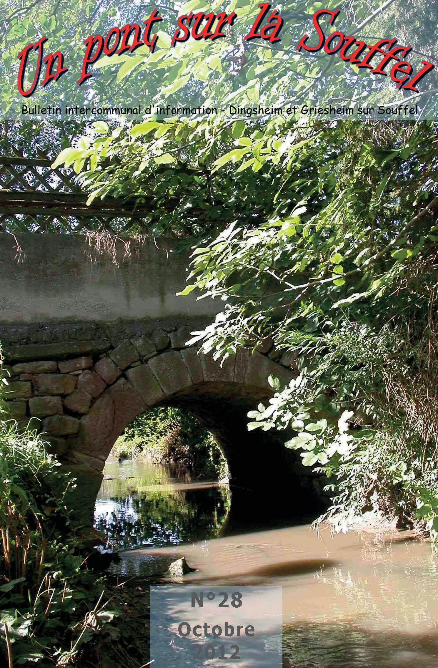 N°28 - Un Pont sur la Souffel - Octobre 2012