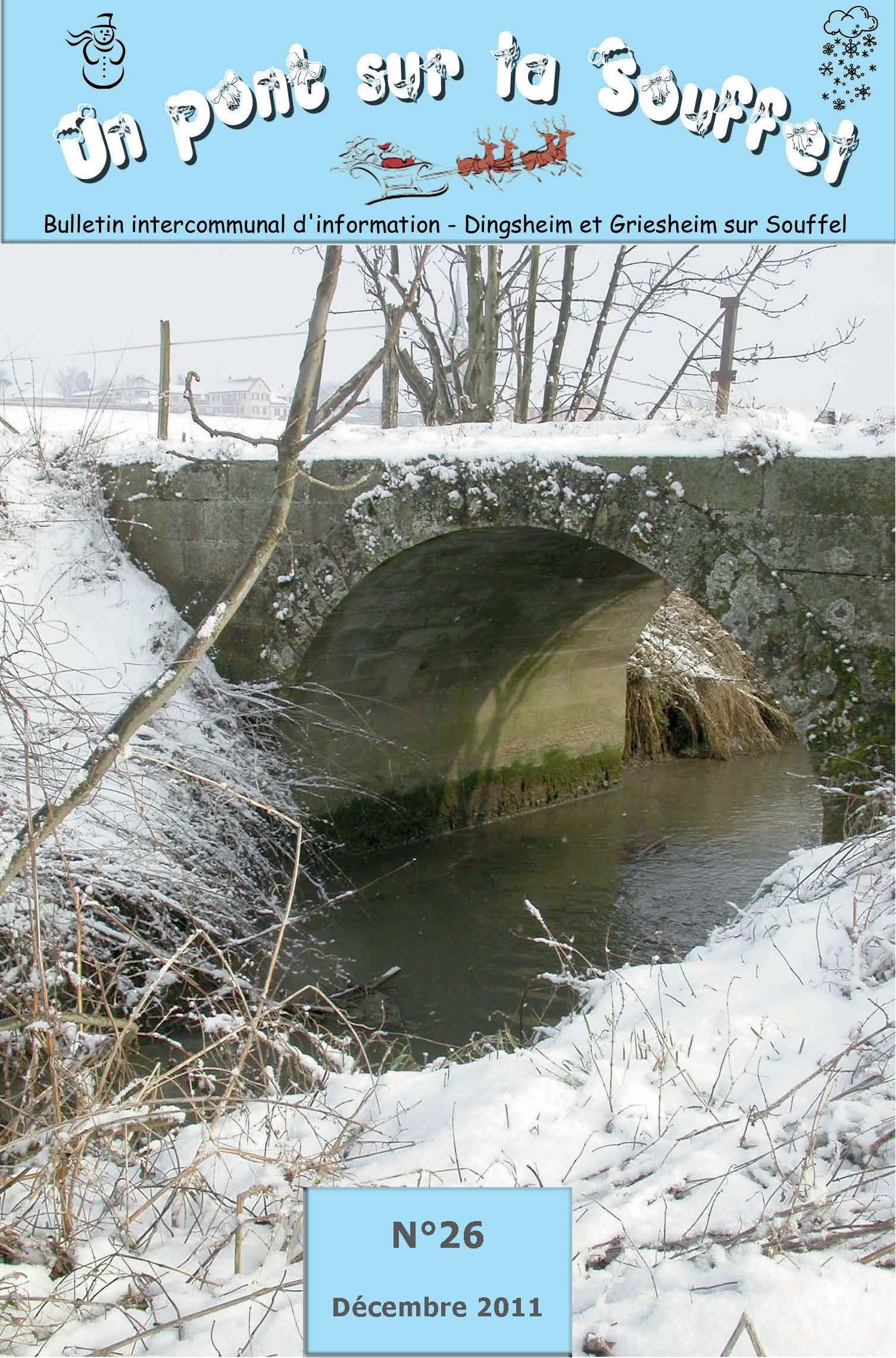 N°26 - Un Pont sur la Souffel - Décembre 2011
