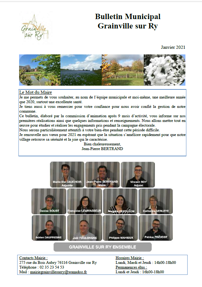 2021-01-bulletin janvier 2021 page 1 rognée