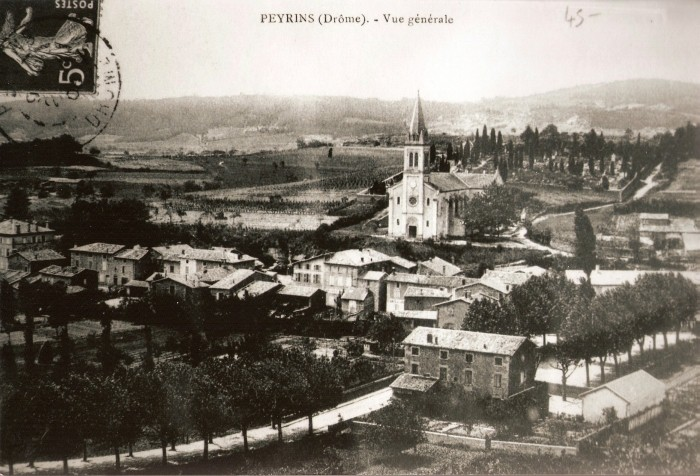 Photo ancienne Peyrins
