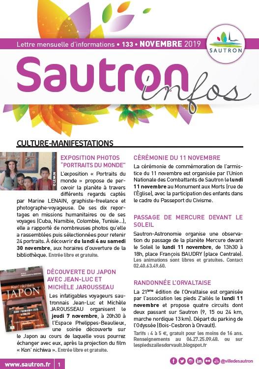 Sautron Infos Novembre 2019