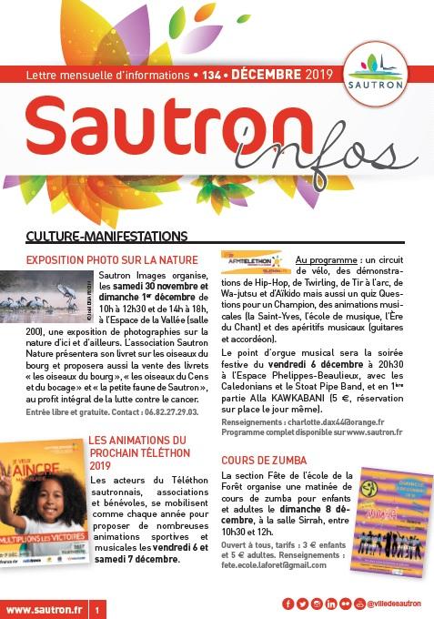 Sautron Infos Décembre 2019