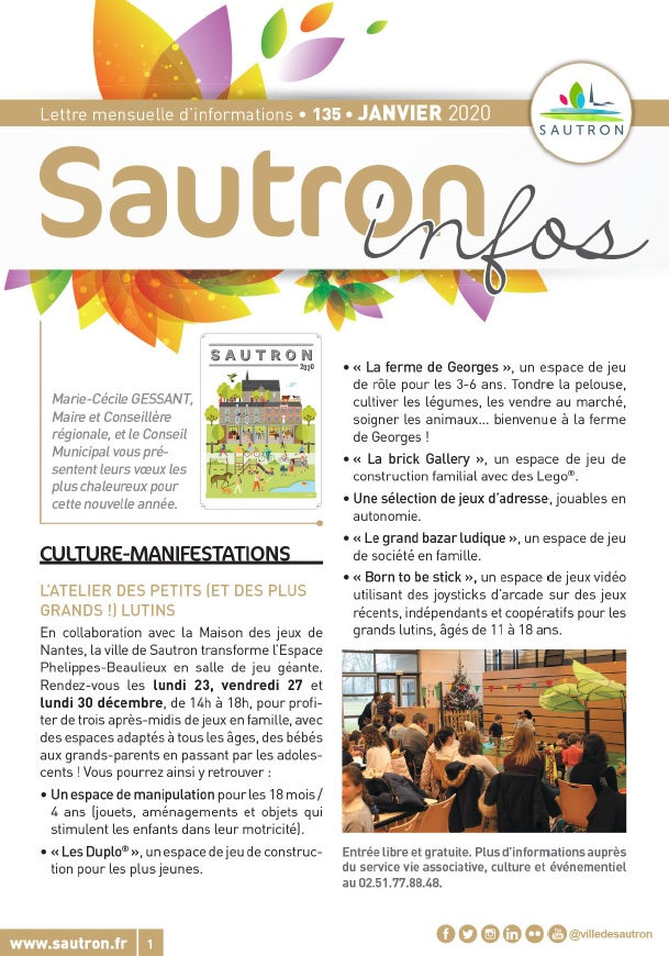 Sautron Infos Janvier 2020