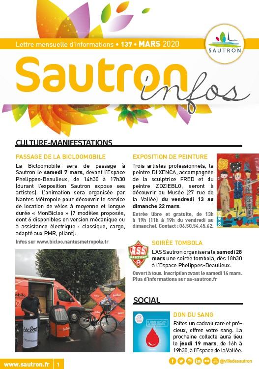 Sautron Infos Mars 2020