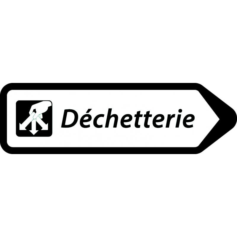 panneau_indiquant_une_d_ch_terie_a_droite noir.jpg