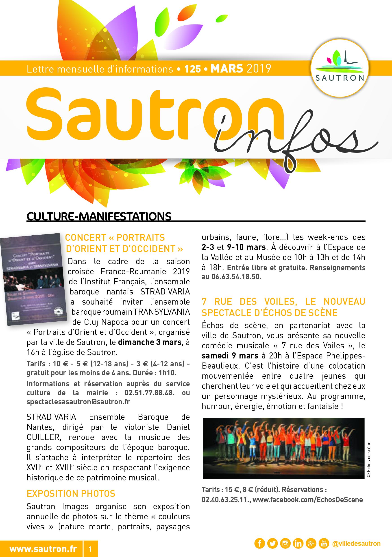Sautron Infos Mars 2019