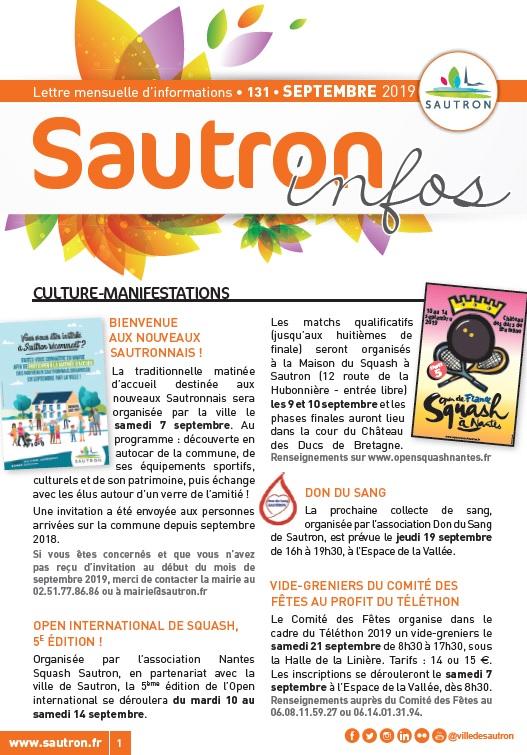 Sautron Infos Septembre 2019
