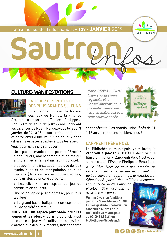 Sautron Infos Janvier 2019