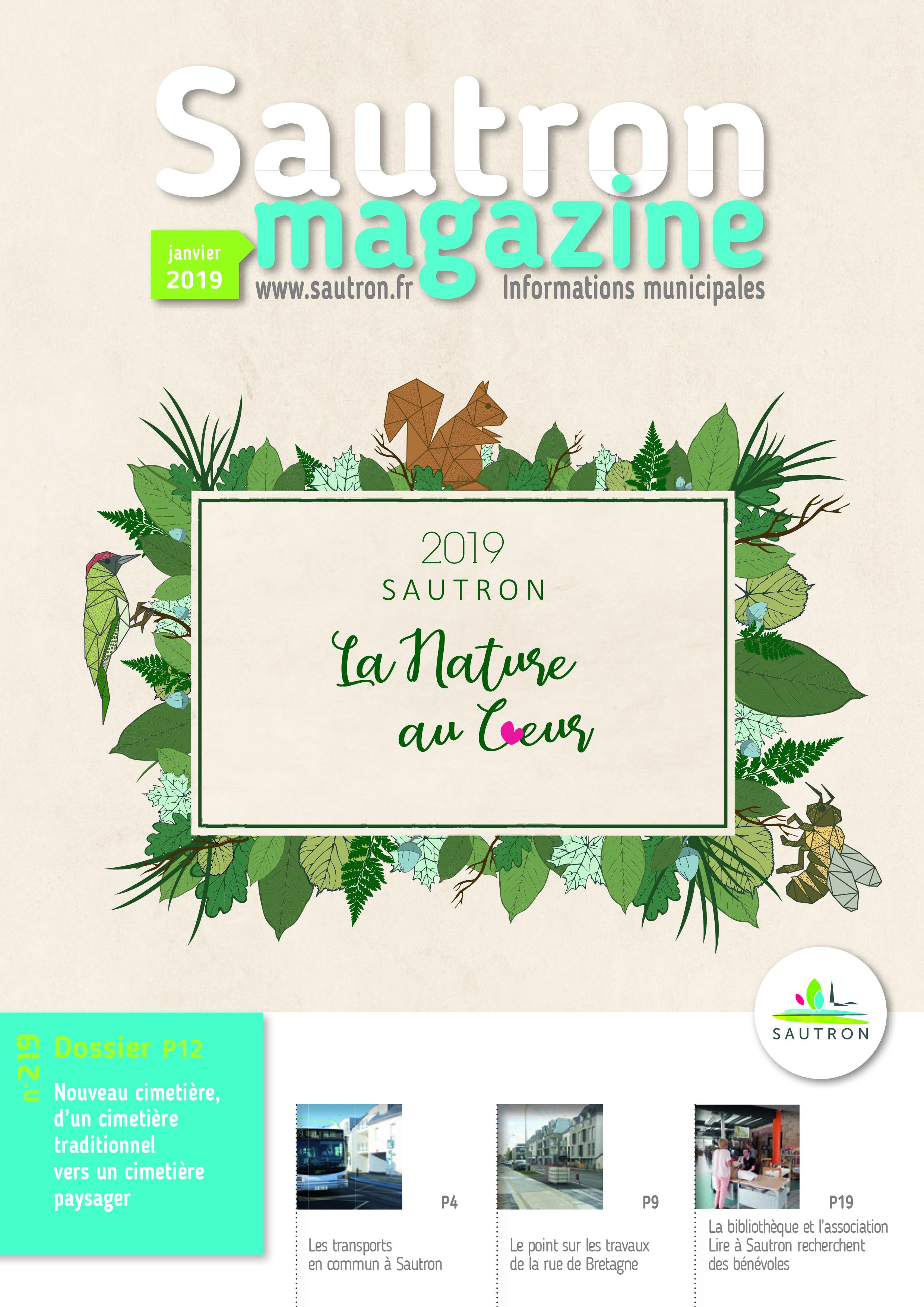 Sautron Magazine Janvier 2019